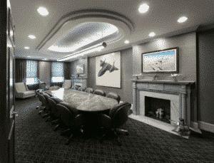 aviation litigation conference room
